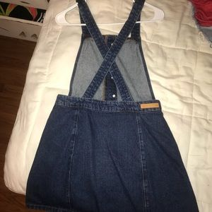 Overall Jean Dress!
